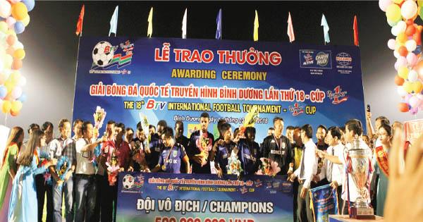 BTV Number 1 Cup & những nhà vô địch