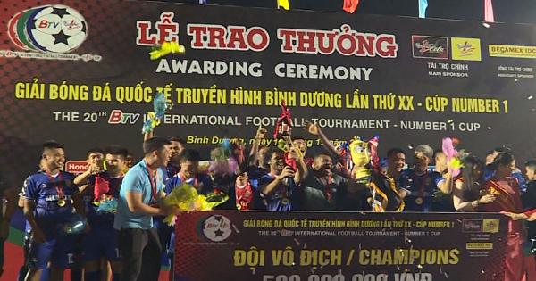 BTV - Number 1 Cup 2019: Khép lại mùa giải thành công