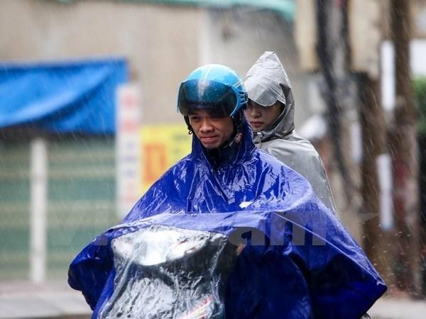 Bắc và Trung Trung Bộ có nơi mưa vừa, mưa to