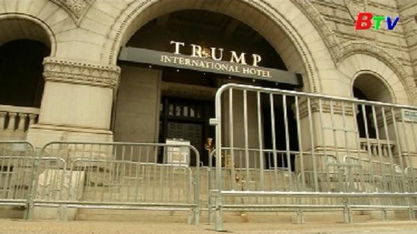 An ninh cho lễ nhậm chức của Tổng thống đắc cử Trump
