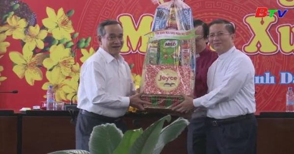 Lãnh đạo tỉnh ủy, UBND tỉnh Bình Dương tiếp các tổ chức tôn giáo