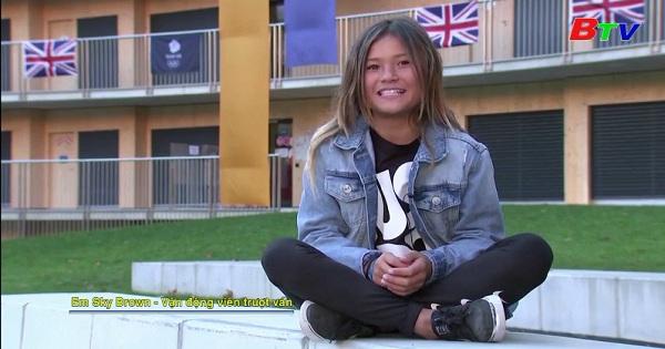 Cô bé thần đồng trượt ván Sky Brown mong muốn chinh phục  Olympic  mùa hè 2020  ở Nhật Bản