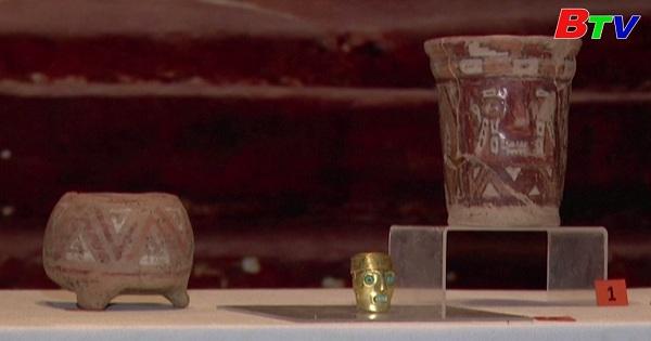 Bolivia phát hiện những cổ vật thuộc về nền văn minh cổ Tiwanaku