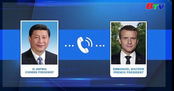 Trung Quốc tăng cương y tế với Pháp