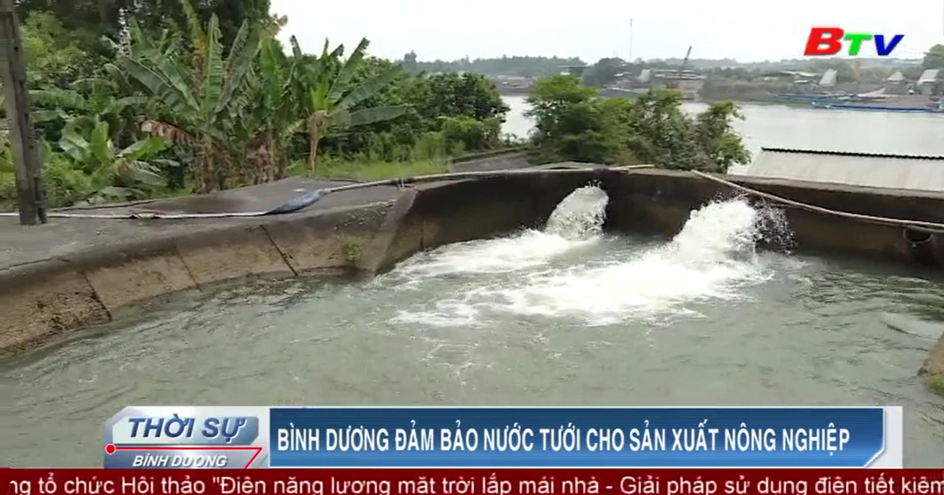 Bình Dương đảm bảo nước tưới cho sản xuất nông nghiệp