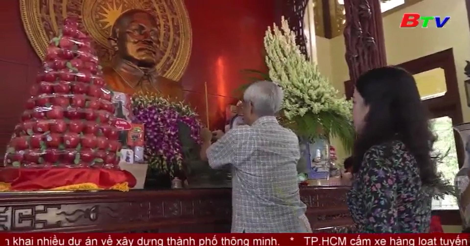 An Giang tưởng niệm 39 năm ngày mất của Chủ tịch Tôn Đức Thắng
