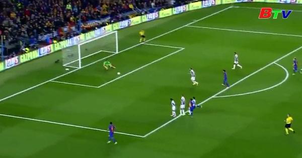Tứ kết lượt về Champions League - Barcerlona 0-0  Juventus