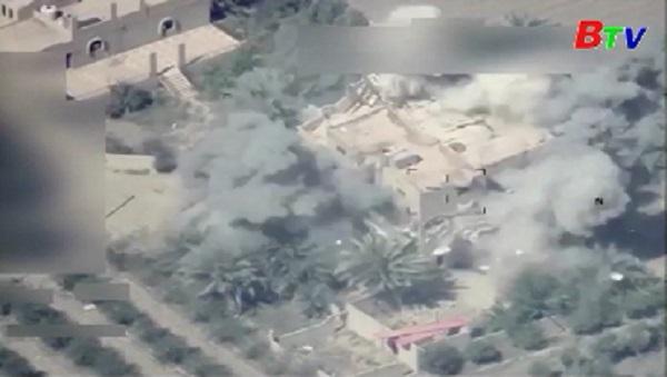 Iraq tiến hành cuộc không kích các mục tiêu IS tại Syria