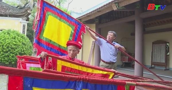 Các xã vùng ven chuẩn bị lễ rước kiện Đền Hùng