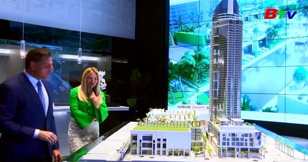 Sắp có bãi đậu máy bay trên đỉnh tòa tháp Miami