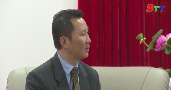 Lãnh đạo tỉnh Bình Dương tiếp và làm việc với GOUCOLAND Bình Dương và tập đoàn LSH Việt Nam