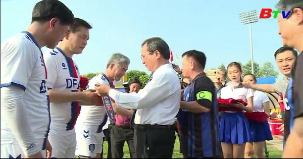 Giao hữu giữa lãnh đạo tỉnh Bình Dương và thành phố  Daejeon Hàn Quốc