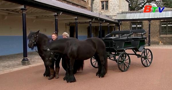 Cỗ xe ngựa gắn bó với Hoàng thân Philip