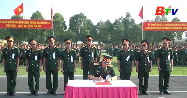 Quân đoàn 4 phát động thi đua cao điểm chào mừng bầu cử