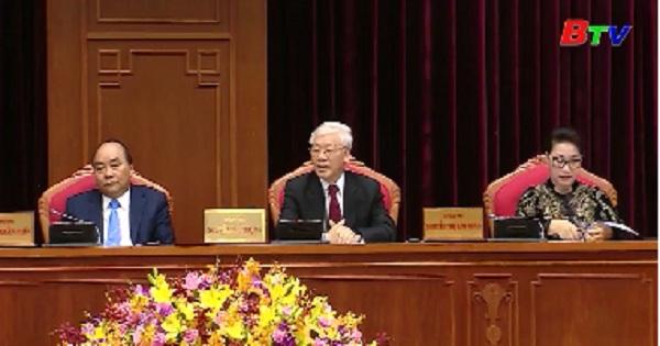Bế mạc Hội nghị lần thứ 10 Ban Chấp hành Trung ương Đảng khóa XII