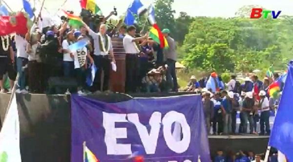 Tổng thống Bolivia bắt đầu chiến dịch tranh cử nhiệm kỳ 4