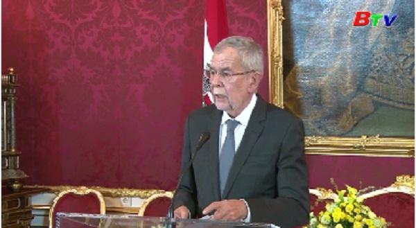 Thủ tướng Áo đề nghị bầu cử sớm
