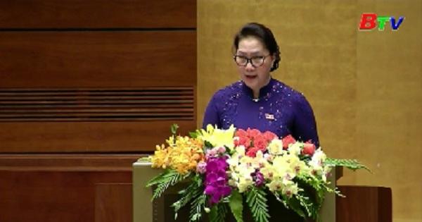 Khai mạc trọng thể kỳ họp thứ 7 Quốc hội khóa XIV
