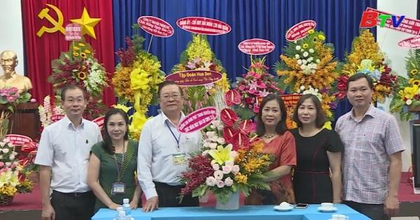Các đơn vị thăm, chúc mừng Đài PTTH Bình Dương nhân ngày báo chí cách mạng Việt Nam