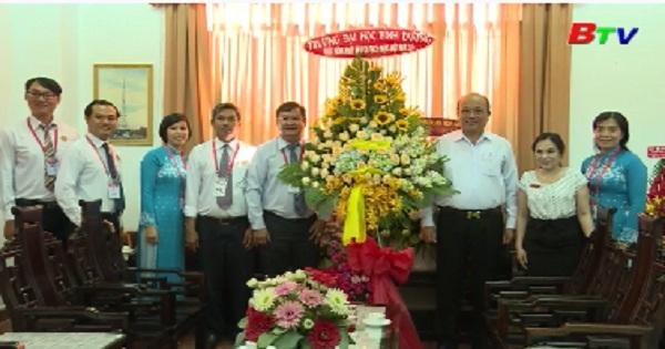 Các đơn vị chúc mừng Đài PT-TH Bình Dương nhân ngày Báo chí cách mạng Việt Nam