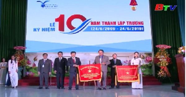 Đại học Thủ Dầu Một kỷ niệm 10 năm thành lập