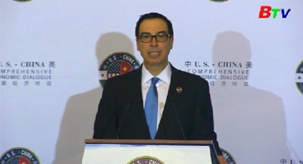 Khai mạc đối thoại kinh tế toàn diện Mỹ - Trung