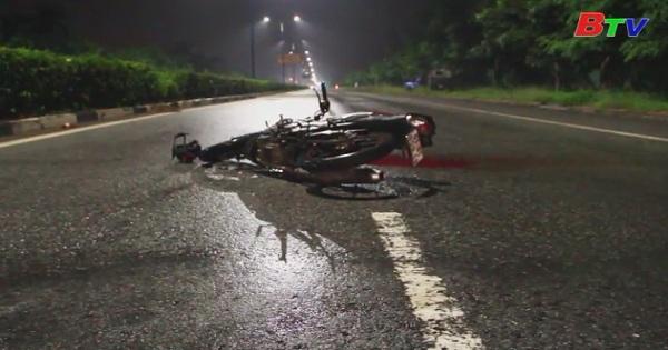 Truy tìm xe ô tô liên quan đến vụ tai nạn khiến một người tử vong