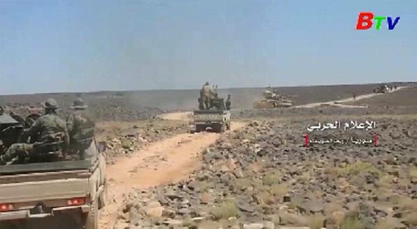 Quân đội Syria tăng cường truy quét các tay súng IS