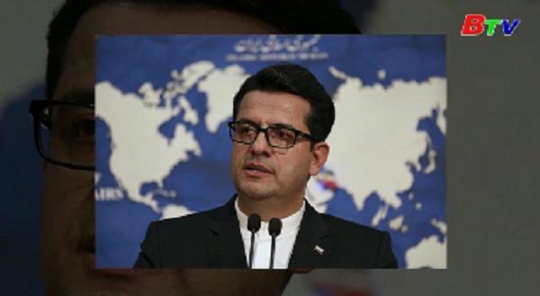 Iran cảnh báo Mỹ 'đừng động vào' siêu tàu dầu vừa được Anh trả tự do