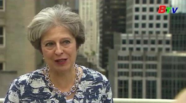 Thủ tướng Anh khẳng định không có chia rẽ nội bộ trong vần đề Brexit