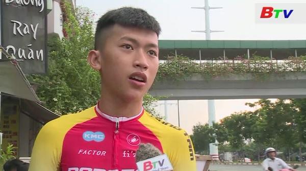 Tay đua trẻ Trần Đình Duy - Áo vàng nhóm tuổi 16-40