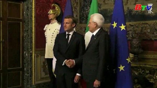 Italy và Pháp cam kết hành động trong vấn đề di cư