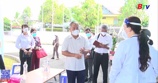 Ban chỉ đạo phòng, chống dịch tỉnh làm việc tại thành phố Thủ Dầu Một