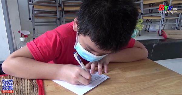 Bức thư xúc động của cậu học sinh mồ côi