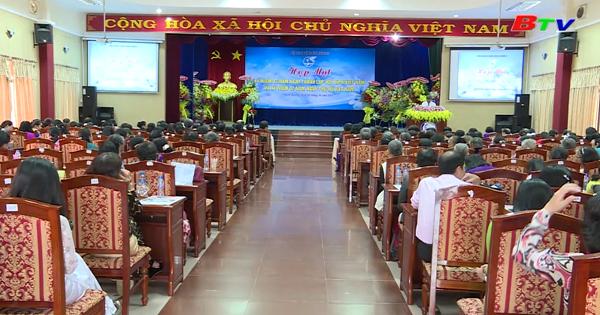 Họp mặt kỷ niệm 87 năm ngày thành lập HLH phụ nữ Việt Nam