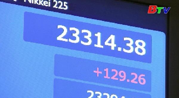 Thị trường chứng khoán Châu Á đồng loạt khởi sắc