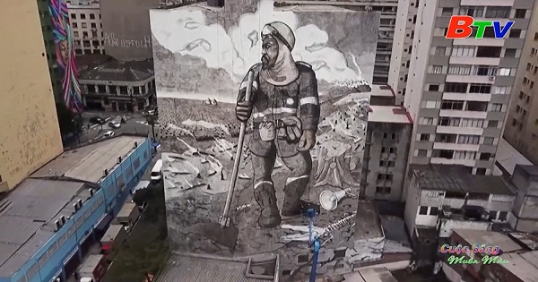 Bức tranh vẽ nên từ tro tàn của các vụ cháy rừng Amazon