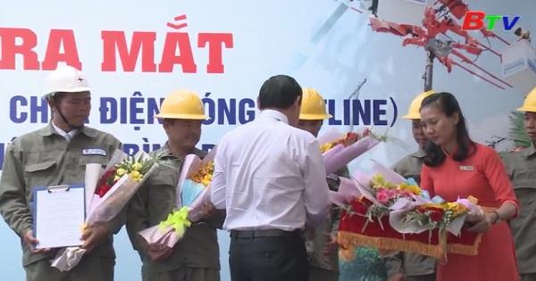 Công ty điện lực Bình Dương ra mắt đội thi công sửa chữa điện nóng (hotline)