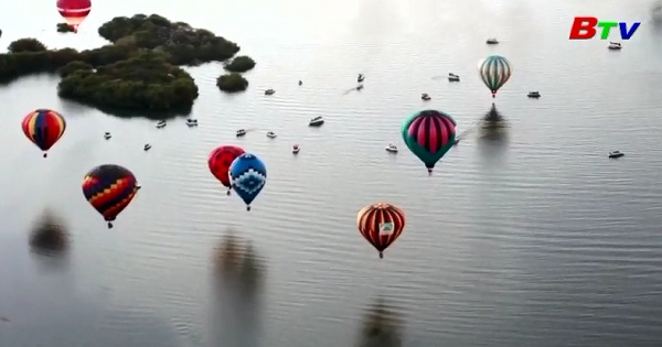 Rực rỡ lễ hội khinh khí cầu quốc tế lớn nhất Mỹ Latinh
