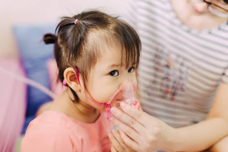 Gia tăng trẻ mắc bệnh đường hô hấp