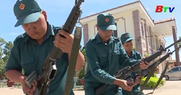 Lực lượng vũ trang Tân Uyên lá cờ đầu trong phong trào thi đua quyết thắng