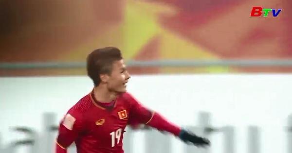 Tiền vệ Quang Hải lọt tốp cầu thủ xuất sắc nhất U23 Châu Á