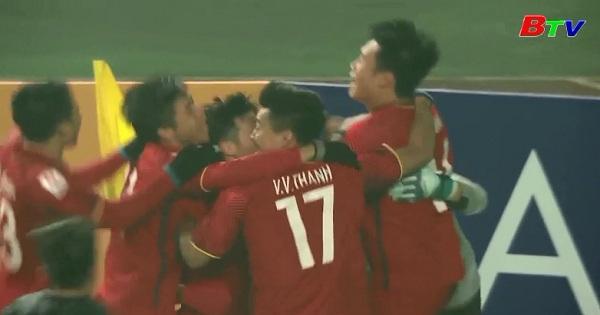 U23 Việt Nam vào bán kết tại VCK U23 Châu Á 2018