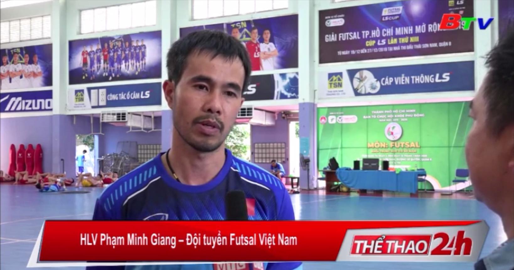 Nhiệm vụ mới của tân HLV Phạm Minh Giang