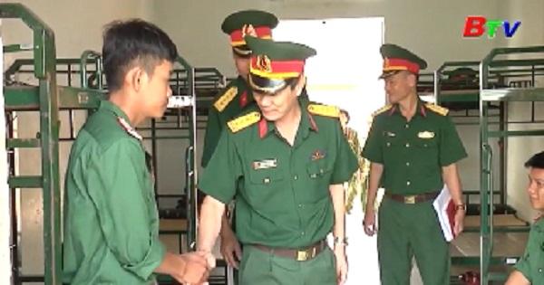 Bộ Tư lệnh Quân đoàn 4 kiểm tra chuẩn bị ra quân huấn luyện năm 2020