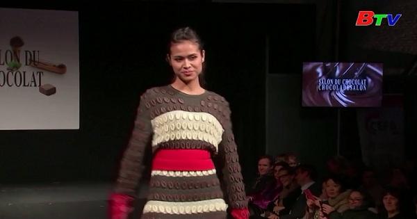 Chiêm ngưỡng những mẫu thời trang độc đáo làm từ Socola