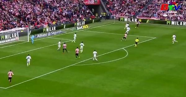Vòng 28 La Liga- Athletic Bilbao 1-2 Real Madrid