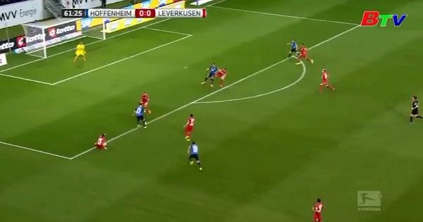 Vòng 25 Giải Bundesliga - Hoffenheim gia tăng sức ép lên tốp 3 đội dẫn đầu