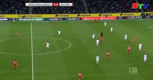 Vòng 25 Bundesliga-Monchengladbach 0-1 Bayern Munich