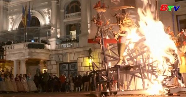 Khép lại lễ hội Las Fallas ở  Tây Ban Nha